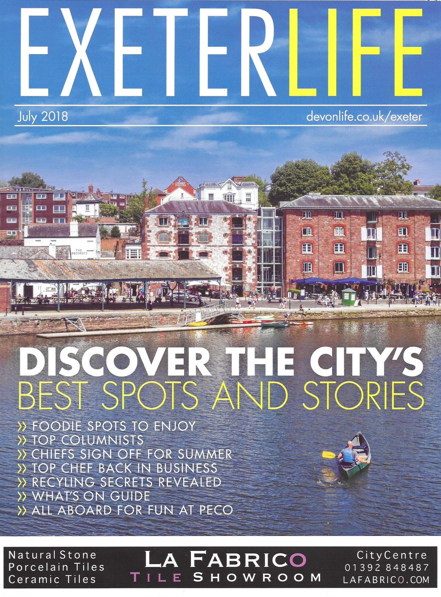 RALPH WINTER in Exeter Life and Devon Life   Ralph Winter